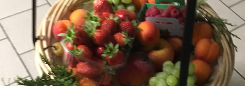 Option Corbeille de fruits