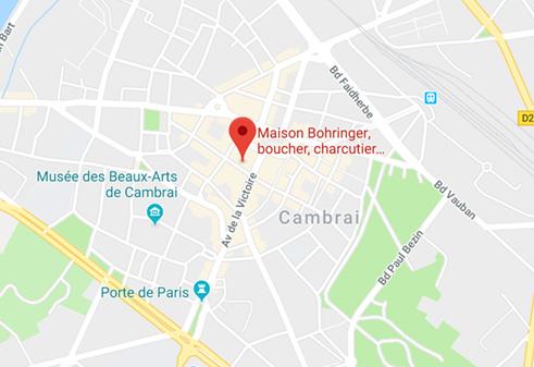 maison bohringer boucherie artisan cambrai