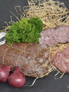 Salami truffes