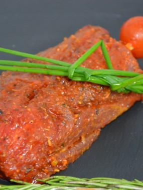 Pavé de boeuf mariné paprika