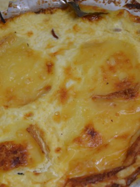 Quiche maroilles grand modele