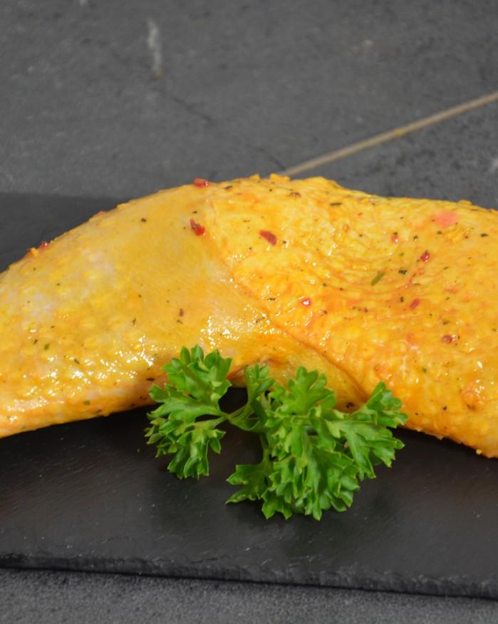 Cuisse de poulet mariné