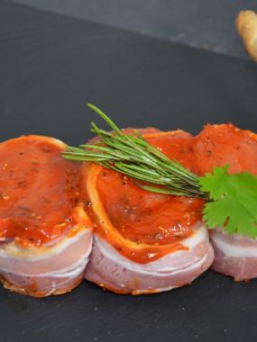 Brochette de filet mignon paprika