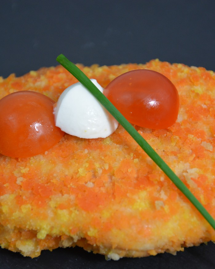 Cordon bleu tomate/mozzarella