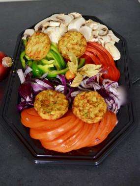 plateau légumes plancha