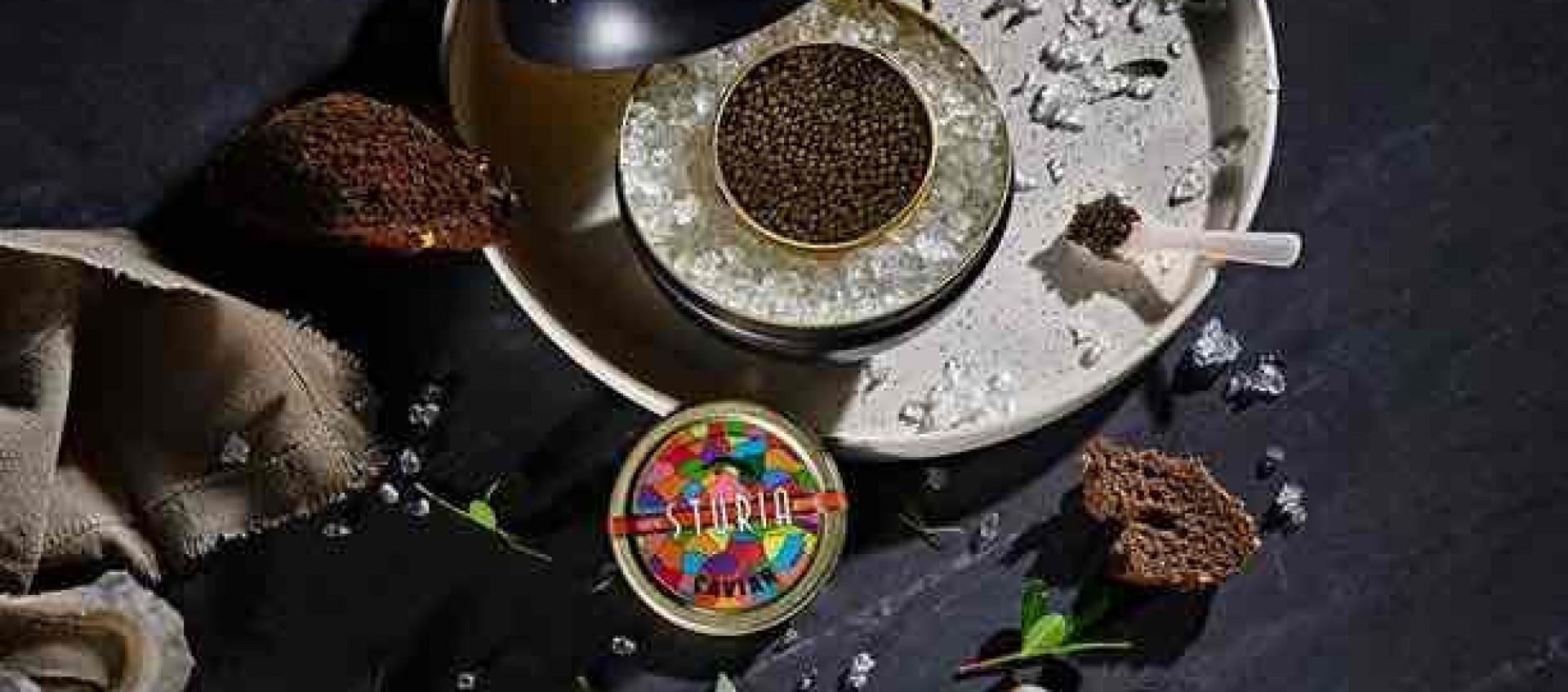 Caviar Sturia en boutique